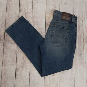 Mens lucky brand 363 straight jeans